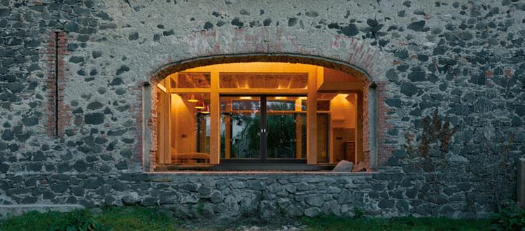 casa nel fienile
